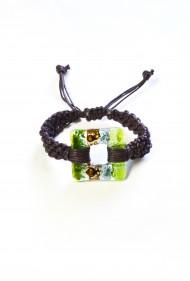 Macrame Square Bracelet