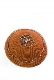 Crochet Mandala Yarmulke