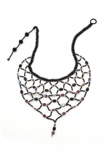 Web Bib Necklace