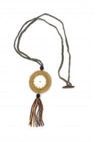 Watch Face Tassel Necklace