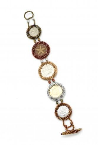 World Coin Bracelet